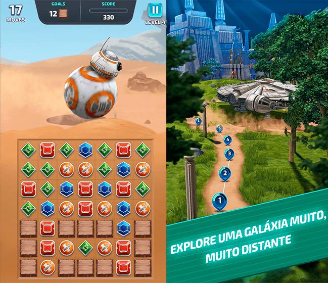 Donwload do jogo Star Wars: Desafio dos Droides itunes e ios grátis