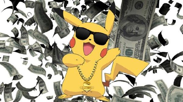 Pokémon Go já ganhou mais de 600 milhões de dólares