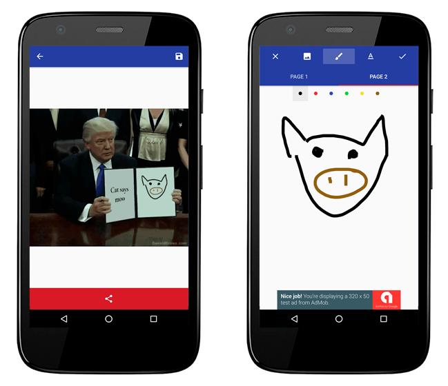 Baixar APK de Donald Draws Executive Doodle para Android