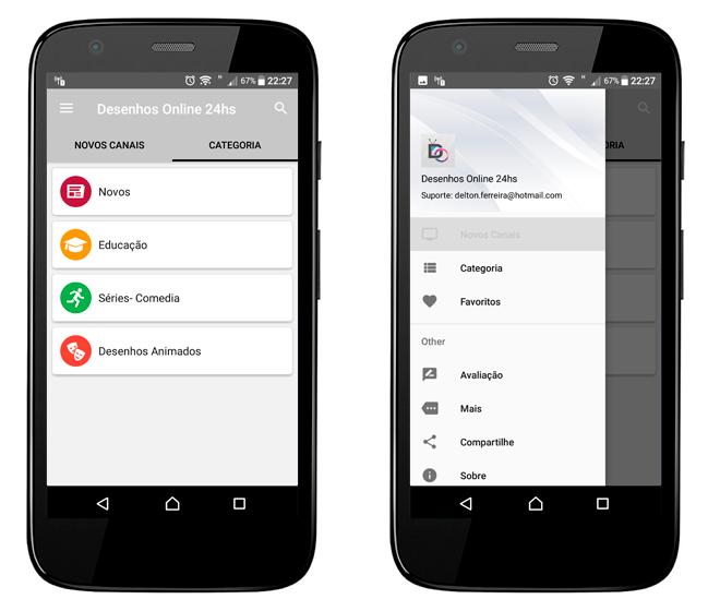 Baixar APK de DEsenhos Online 24hs de graça para Android