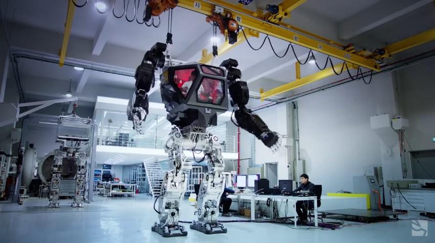 Coreanos estão construindo robôs-mechas de verdade