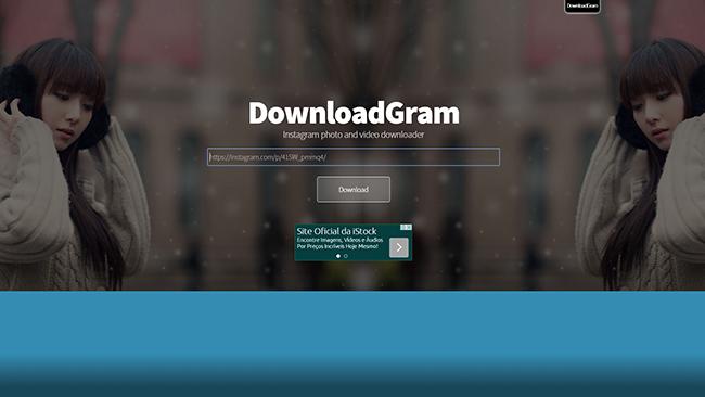 DownloadGram download - Baixe Fácil